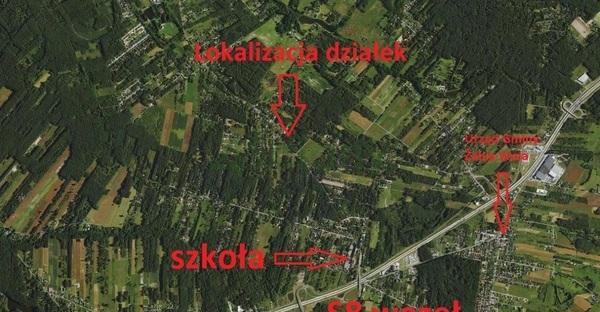 Działka 1500 m2 w ŻABIA WOLA